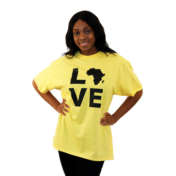 Yellow Love Africa T-Shirt