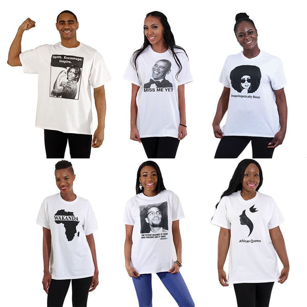 Set Of 6 Top Selling T-Shirts