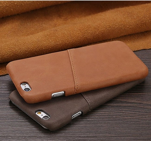 Grip Leather Case For iPhone