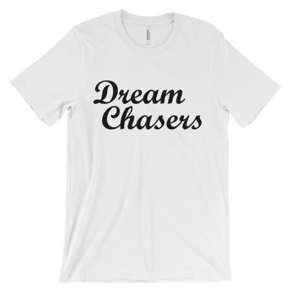 DREAM CHASERS Unisex short sleeve t-shirt-LocStar Revolution | African and Urban Style-LocStar Revolution - African Tees, African American T-Shirts, Black Pride Tees, RBG T-Shirt