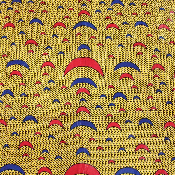 Yellow Crescent Fabric
