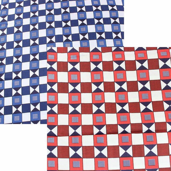 Square Pattern Fabric
