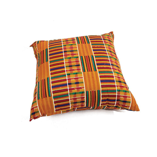 African Kente Print Pillow