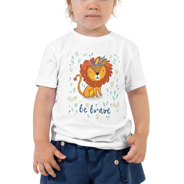 BE BRAVE, LION Toddler Short Sleeve Tee