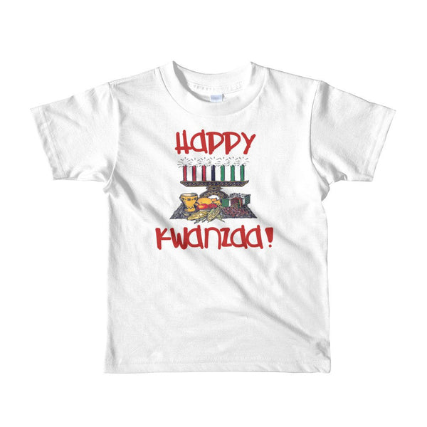 Fun Happy Kwanzaa Short sleeve kids t-shirt