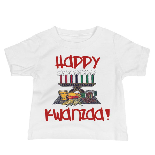 Fun Happy Kwanzaa Baby Jersey Short Sleeve Tee