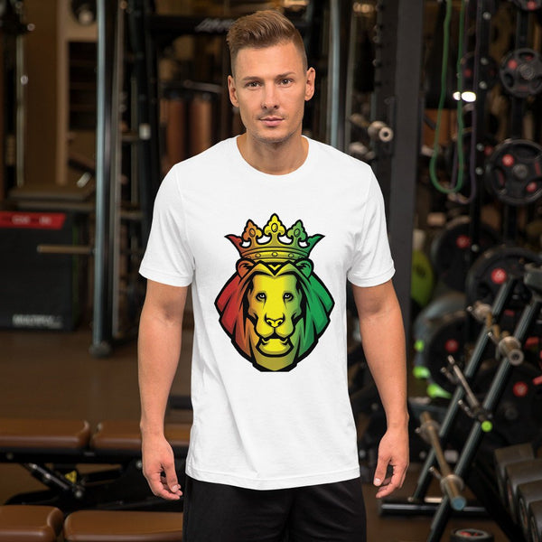 Jamica Royalty Lion Short-Sleeve Unisex T-Shirt