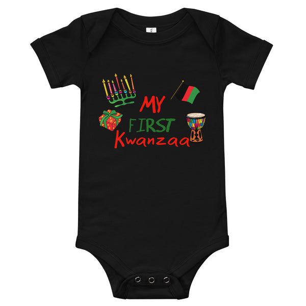 My First Kwanzaa! Baby Onesie