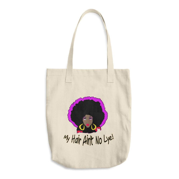 """NO LYE!"" Cotton Tote Bag-LocStar Revolution - African Tees, African American T-Shirts, Black Pride Tees, RBG T-Shirt-LocStar Revolution - African Tees, African American T-Shirts, Black Pride Tees, RBG T-Shirt"