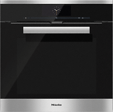 Miele H6860-BP Stainless Steel Electric Single Oven with Wireless Food Probe