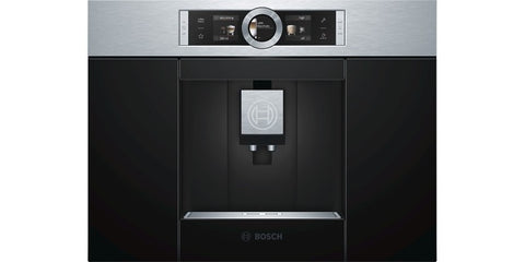 Bosch CTL636ES1 Built In Automatic Espresso Machine and Grinder with Milk Frother - Stainless Steel/Black