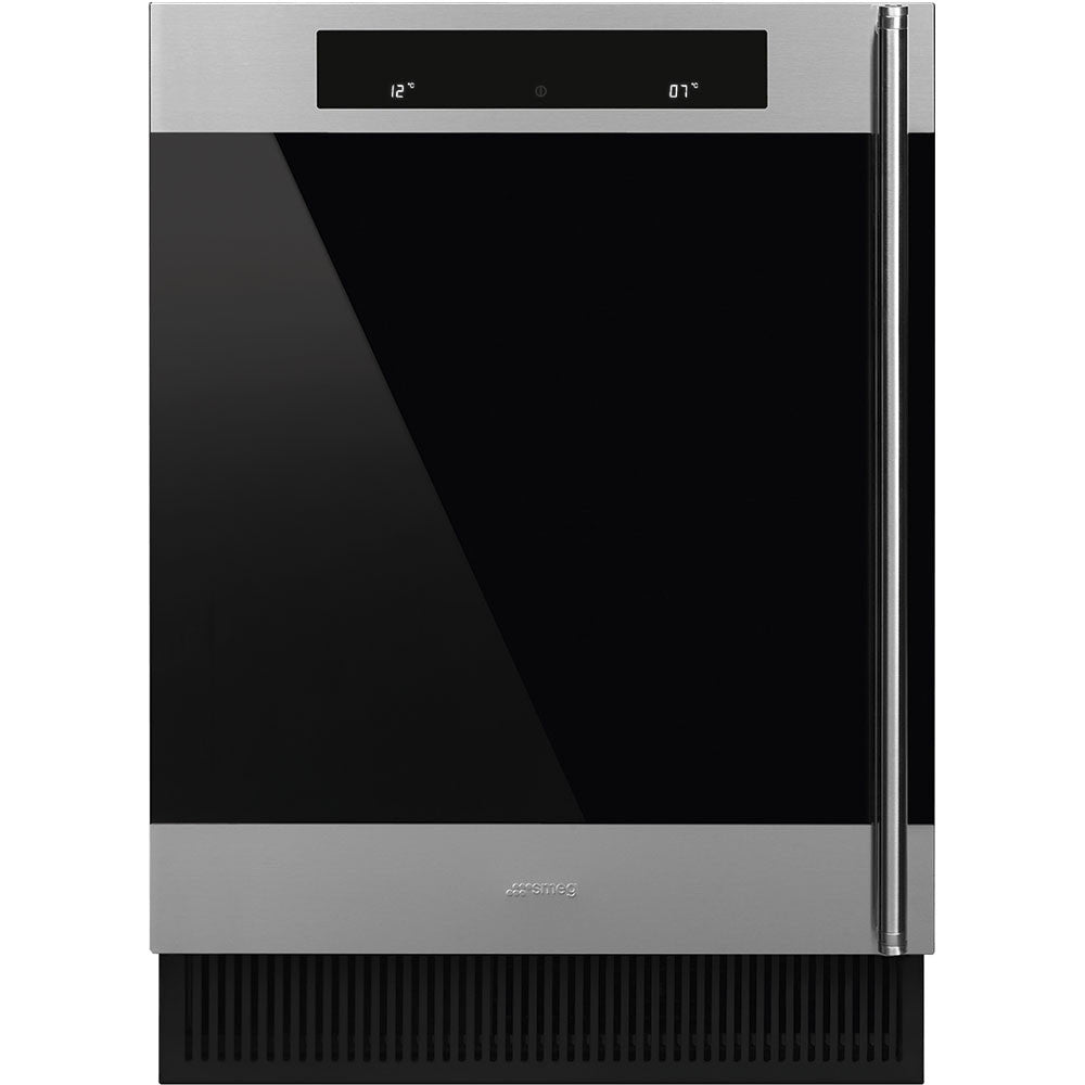 Smeg  CVI338XS 60cm Classic Integrated Undercounter Wine Cooler Left Hinged Model
