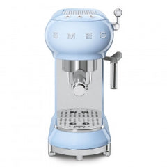 Smeg  ECF01PBEU 50's Style Pastel Blue Retro Espresso Coffee Machine