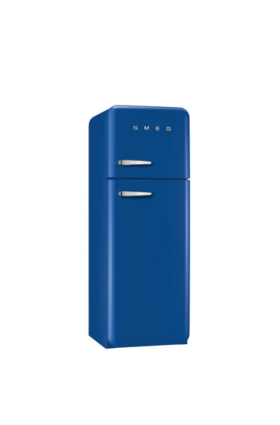 Smeg  FAB30RBL1 60cm Blue Retro Fridge-Freezer 295L capacity Right Hinged Energy Rating: A++
