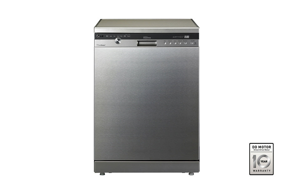 LG D1464CF 60cm 14 Place True Steam Dishwasher Stainless Steel