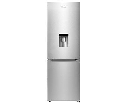 Hisense H299BME-WD 228 litre Freestanding Fridge Freezer with Water Dispenser Metallic