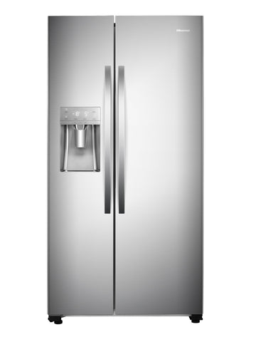 HISENSE H700SI-ID 535L Ice Maker Side By Side Fridge Freezer Inox Stainless