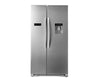 HISENSE H730SS-WD 556L Side By Side Fridge Freezer WIth Water Dispenser Metallic
