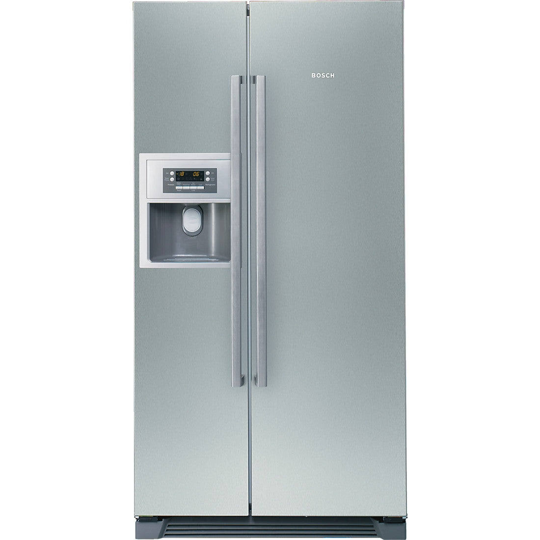 Bosch KAN58A75 American Style Fridge Freezer With Ice & Water Stainless Steel