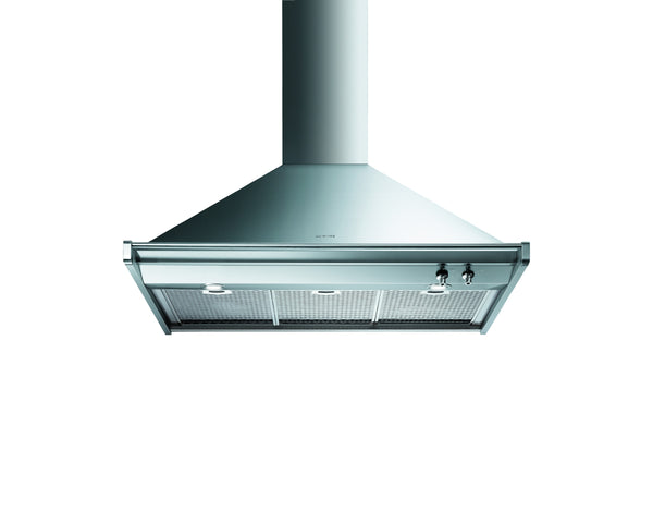 Smeg  KD90X-2 90cm Stainless Steel Classic Wall Mount Extractor Hood