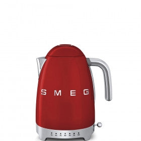 Smeg  KLF02RDSA 50's Style Fiery Red Retro Variable Temperature Kettle