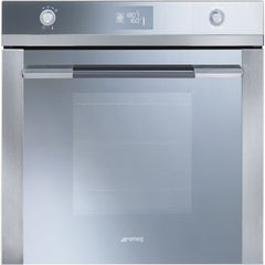 Smeg  SF122E 60cm Silver-mirrored Glass Linea Electric Oven