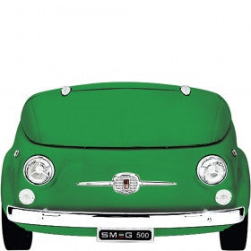 Smeg  SMEG500V Green Collectors Edition Fiat 500 Design Cooler