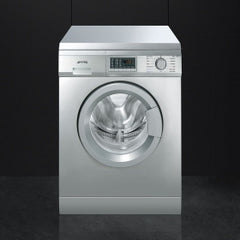 Smeg  WDF147X 60cm Stainless Steel Freestanding Combination 7kg Washer 4kg Dryer