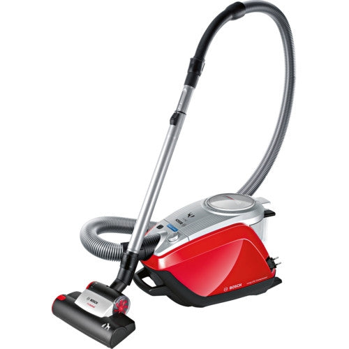 Bosch BGS5ZOOO1 Zoo'o ProAnimal Cylinder Vacuum Cleaner Silver Metallic / Tornado Red