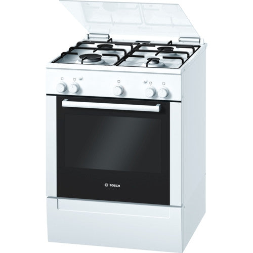 Bosch HGG223122Z 60cm Freestanding Gas Cooker White