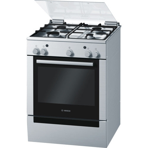 Bosch HGG223329Z Freestanding Gas Cooker Stainless Steel