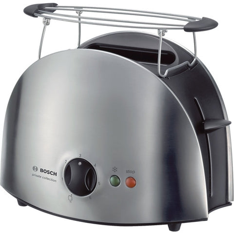 Bosch TAT6901 Toaster Black / Stainless Steel