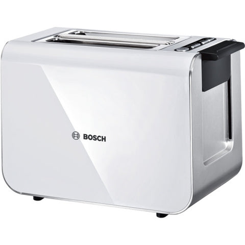 Bosch TAT8611 Toaster White / Stainless Steel
