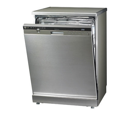 LG D1454TF 60cm 14 Place TrueSteam™ & Inverter Direct Drive Dishwasher with SmartRack™ Technology Stainless Steel