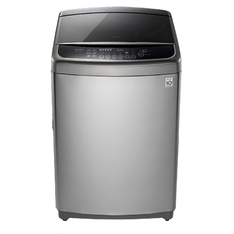 LG T1932AFPS5 19kg Premium Top Loader Dual Direct Drive Washing Machine Silver