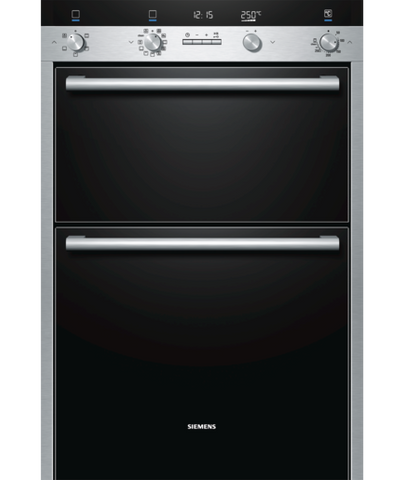 Siemens iQ500 HB55MB551B Electric Double Oven Stainless Steel