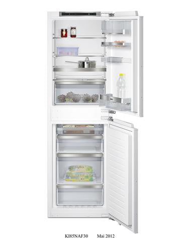 Siemens iQ500 KI85NAF30 Integrated Fridge Freezer White