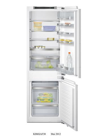 Siemens iQ500 KI86SAF30 Integrated Fridge Freezer White
