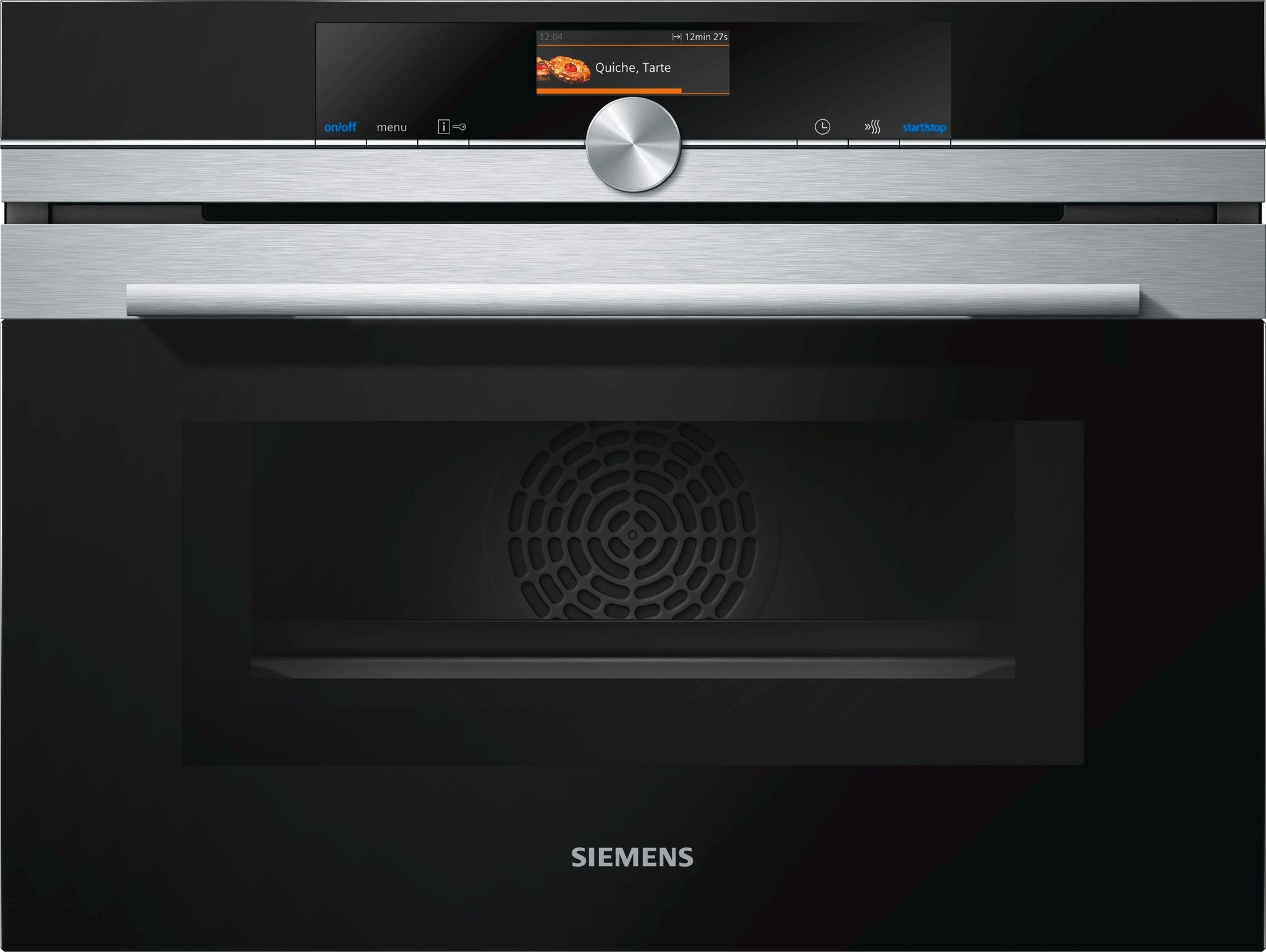 Siemens iQ700 CM656GBS1 Compact Oven and Mircrowave Stainless Steel