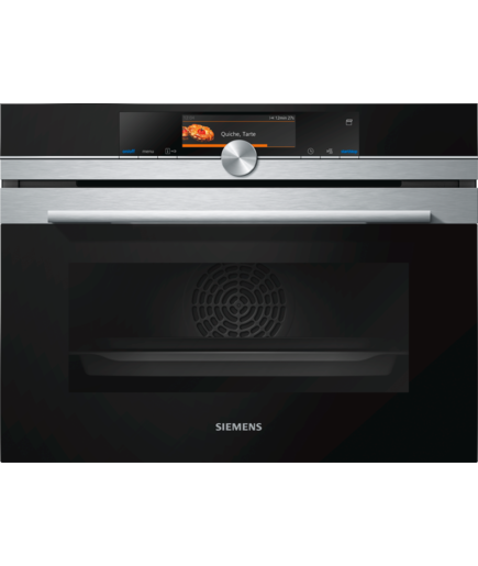 Siemens iQ700 CS658GRS1 Steam Oven Stainless Steel