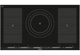 Siemens iQ700 EH975SZ17E 90cm Induction Hob Black / Stainless Steel