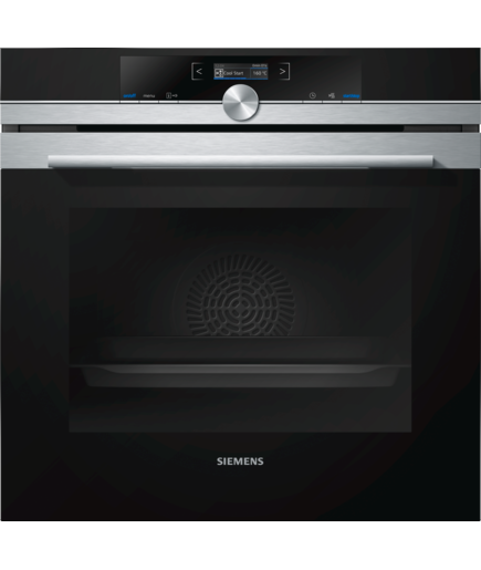Siemens iQ700 HB633GBS1 Electric Single Oven Stainless Steel
