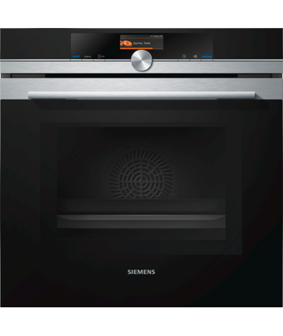Siemens iQ700 HM656GBS1 Electric Single Oven with Microwave Stainless Steel