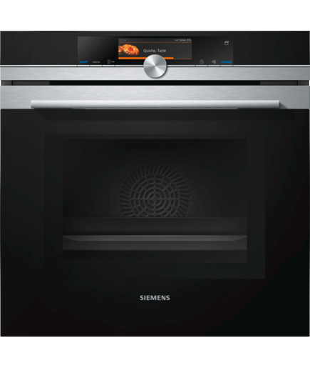 Siemens iQ700 HN678G4S1 Combination Microwave Oven Stainless Steel