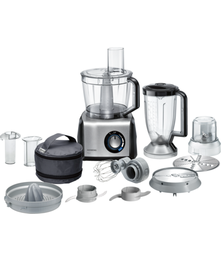 Siemens MK860FQ1 Food Processor Black / Stainless Steel