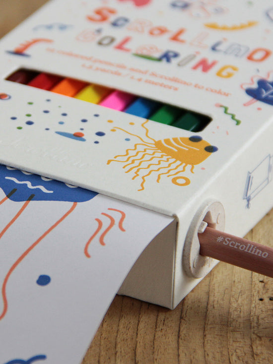 Scrollino Coloring Box