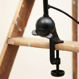 Architect lamp 201 Black/black Lampe gras