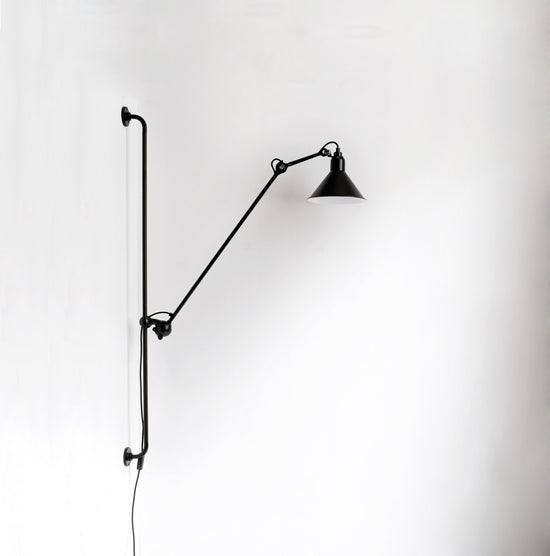 Wall lamp nr 214 Black/Black