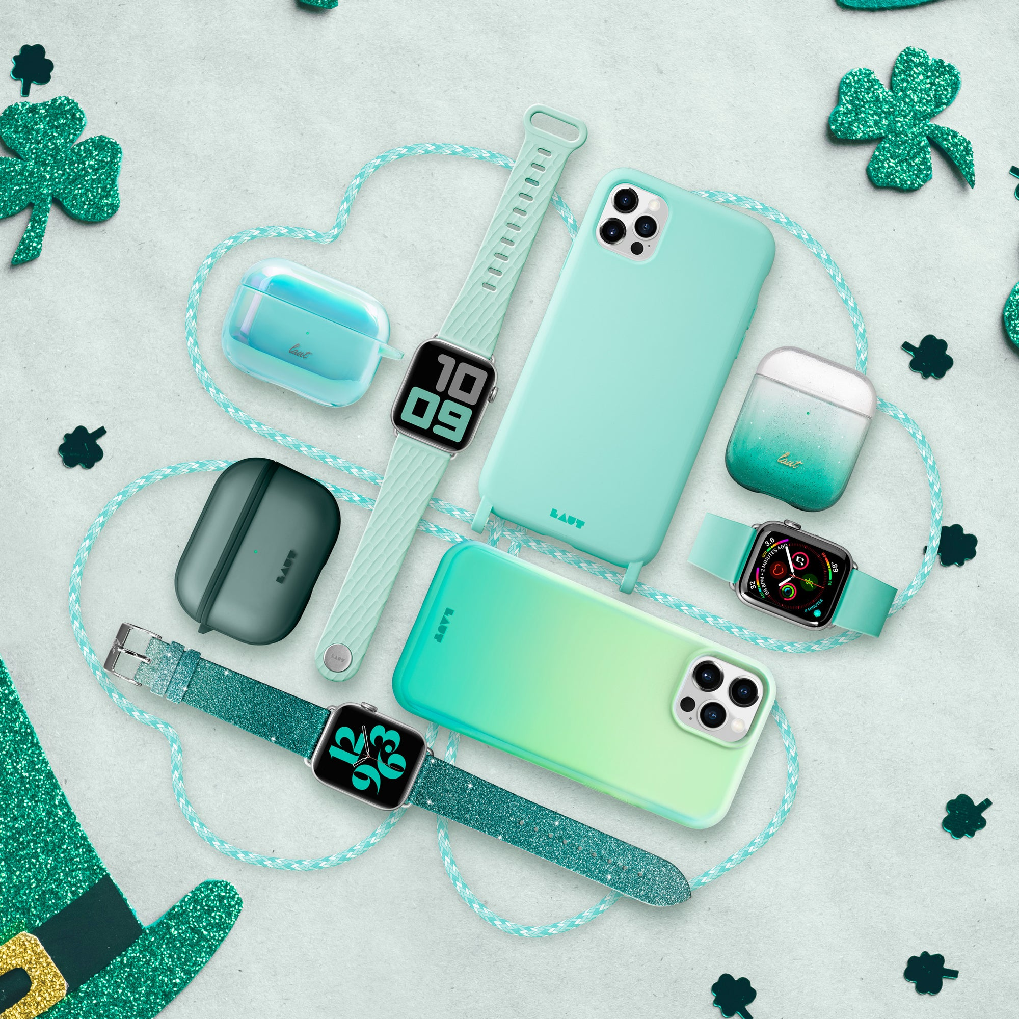 Pinch-Proof LAUT Products for St. Patrick's Day 🍀