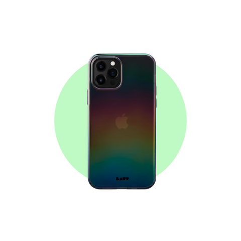 LAUT HOLO Case for iPhone 12 in Color Midnight